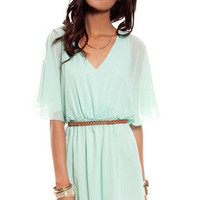 Alice Dress in Mint :: tobi