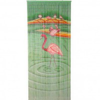 Bamboo54 Flamingoes Curtain - 5264 - Window Treatment - Decor