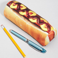 Hot Dog Pouch - Hot Dog Yummypocket Zipper Pouch
