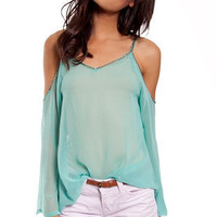 Strut Your Studs Tunic in Mint :: tobi