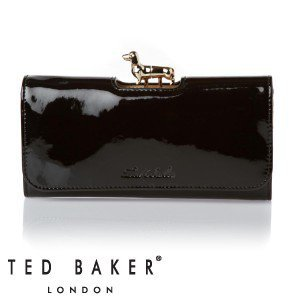 Ted Baker Sassey Dachshund Dog Bobble Purse - Black