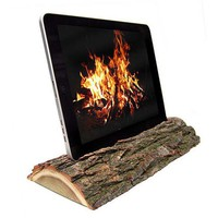 Eco-friendly Handmade from London Oak iPad Docking Station: iLog