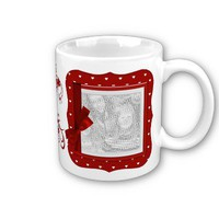 Cup template-Valentine's Day Gift Coffee Mug from Zazzle.com
