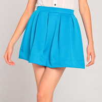 Skater Skirt in Turquoise