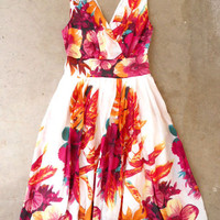 Charming Leilani Luau Dress [2736] - &amp;#36;54.00 : Vintage Inspired Clothing &amp; Affordable Summer Dresses, deloom | Modern. Vintage. Crafted.
