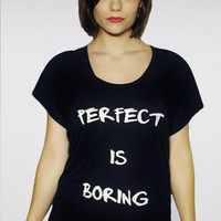 Madness Is The Perfect Is Boring Tee : Karmaloop.com - Global Concrete Culture