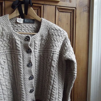 knitwear womans clothing vintage cardigan by DollyTopsyVintage