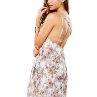Papaya Clothing Online :: FLORAL BACK STRING CAMI DRESS