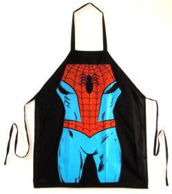 ROCKWORLDEAST - Spider-Man, Apron, Spider Suit