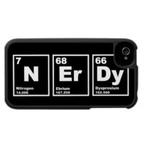 Nerdy Elements Case For The Iphone 4 from Zazzle.com