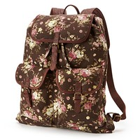 Candie's Floral Oversized Backpack