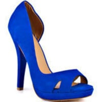 L.A.M.B.'s Blue Italia - Blue Leather for 249.99 direct from heels.com