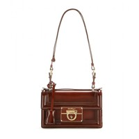 Alleen leather shoulder bag
