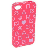 Marc Jacobs iPhone 3G Cover Stardust Logo Hot Pink Multi