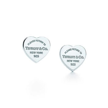 Tiffany & Co. - Return to Tiffany®:Mini Heart Tag Earrings