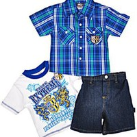 "Urban Extreme ""Authentic Crest"" 3-Piece Outfit (Sizes 12M - 24M)"