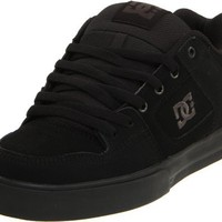 DC Men`s Pure Skate Shoe,Black/Pirate Black,11 M US
