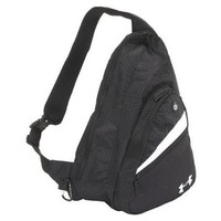 Under Armour Streaker Sling Backpack, Black