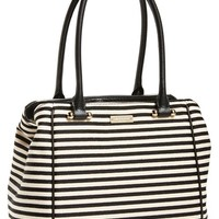 kate spade new york 'small charles street - reis' stripe shopper