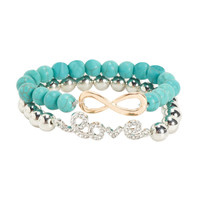 INFINITE LOVE BRACELET 2-PACK