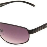 Southpole Men&#x27;s 784SP BLK Classic Metal Sunglasses,Black Frame/Smoke Gradient Lens,One Size