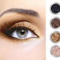 Glamour My Eyes Get the Look Mineral Eyeshadow Set - Honey