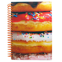 FROSTED DONUT SCENTED NOTEBOOK