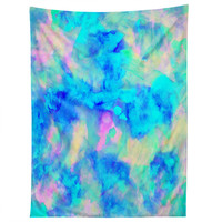 Amy Sia Electrify Ice Blue Tapestry