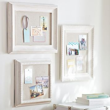 Wooden Eclectic Framed Pinboards