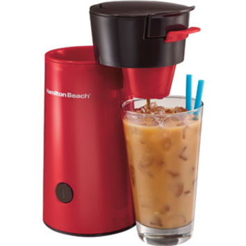 Walmart: Hamilton Beach Iced Coffee Brewer, Red