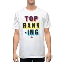 Stussy Top Ranking Tee | Caliroots - The Californian Twist of Lifestyle and Culture