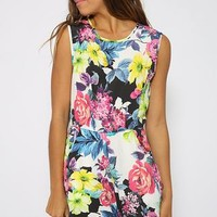 Stealing Time Dress - Print
