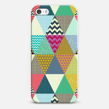 New York Beauty triangles iPhone 5s case by Sharon Turner | Casetify