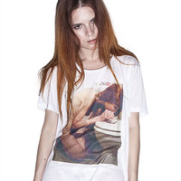 "T-Shirt Woman ""Drug Girl"" - Heroin Kids Online Store"