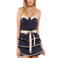 Papaya Clothing Online :: RIBBON SHORT DRESS
