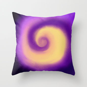 Color Focus Throw Pillow by Color Project by Sanja