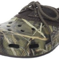 crocs Men's Islander Sport Realtree Boat Shoe