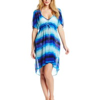 Jantzen Women's Tie-Dye Cover-Up Dress