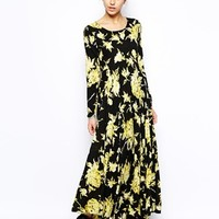 Free People Maxi Dress in Floral Print at asos.com