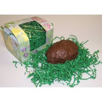Scott's Cakes 1 Pound Coconut Cream Easter Egg Covered in Milk Chocolate