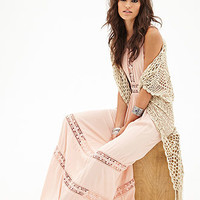 Crocheted Maxi Dress