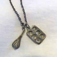 Product - Baking necklace and charm  by Precious Rose Boutique  · Storenvy