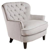 Best Selling Tufted Fabric Club Chair