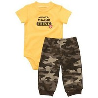 Carter's 2-pc. Mommy's Major Hunk Pant Set