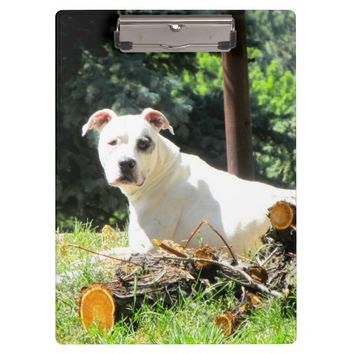 American Bull Dog Clipboard