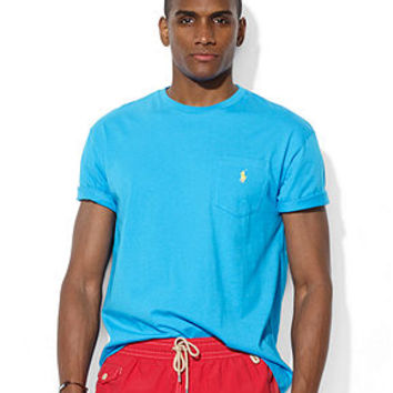 Polo Ralph Lauren Classic-Fit Cotton Jersey Pocket T-Shirt