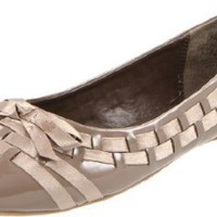 Wanted Shoes Women's Bow Ballet Flat