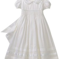 Hartstrings Girls 2-6X Little Communion and Flower Girl Smocked Dress