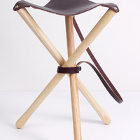 Wood & Faulk Camp Stool - Bridge & Burn