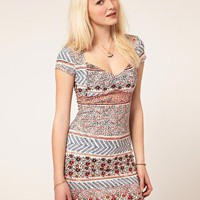 Minkpink | Minkpink &#x27;Juliet&#x27; Sweetheart Neck Dress at ASOS